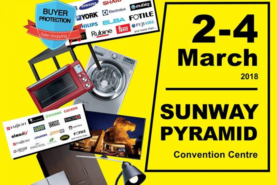HOME LIVING EXHIBITION @ SUNWAY PYRAMID Convention Centre